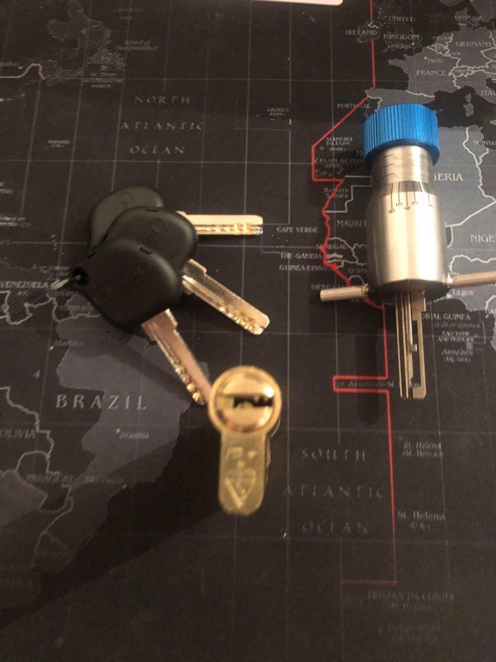 High Security Dimple Pick- Durham Locksmith